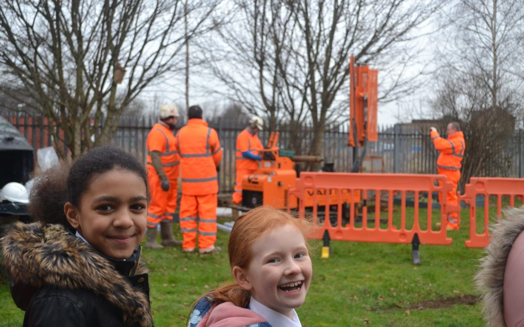 Local School and Environmental Consultancy team up for Science Project