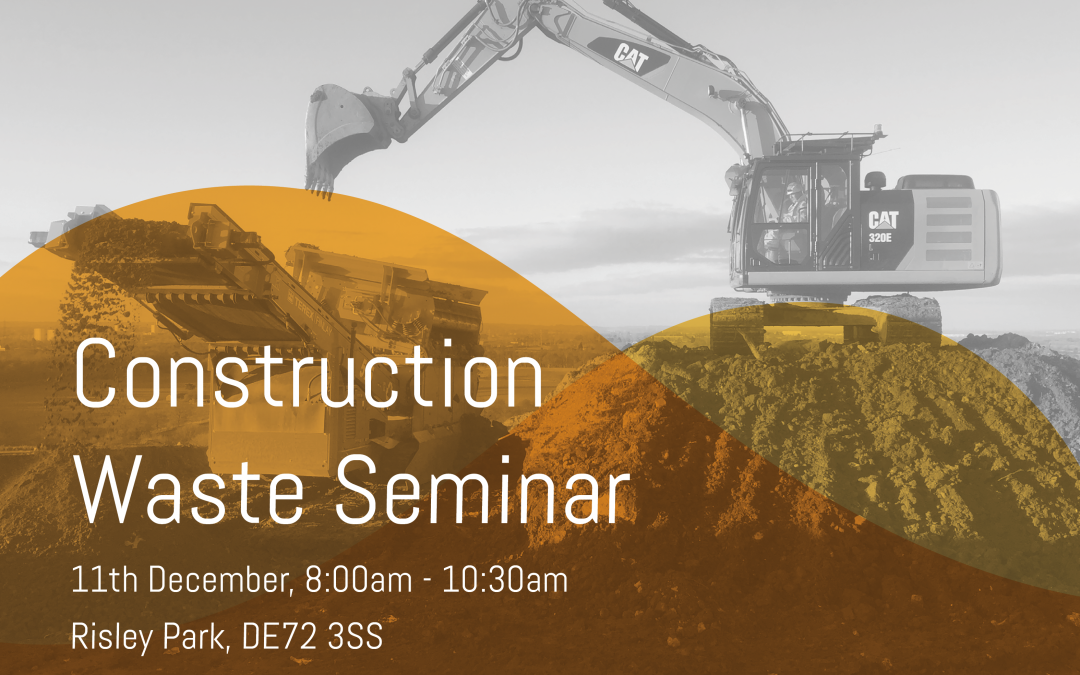 A seminar on the ever-changing landscape of waste management